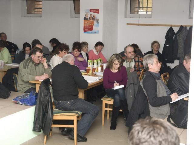 Szkolenia dla uczestników programu odbywają się w miasteckim Spichlerzu