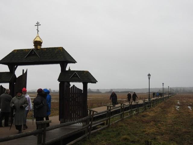 Prawosławne Boże Narodzenie  można rozpocząć modlitwą w skicie w Odrynkach