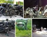 Tragiczne wypadki na drogach Pomorza. Najpoważniejsze zdarzenia od stycznia 2020 roku. Galeria zdjęć