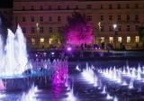 Plac Litewski i Arena Lublin rozbłysły na różowo. To wyraz solidarności z chorymi na raka piersi. Zobacz zdjęcia