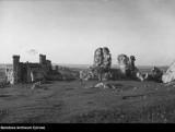 Zamek Ogrodzieniecki w Podzamczu... bez drzew! Zobaczcie przedwojenne zdjęcia
