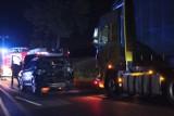 Pleszew. Pięć osób trafiło do szpitala w wyniku wypadku na drodze krajowej nr 11