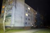 Jeden z lokatorów chciał podpalić swoje mieszkanie? Akcja policji i strażaków [ZDJĘCIA, WIDEO]