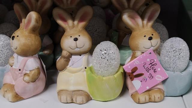 Wielkanoc 2021 w sklepach w Piotrkowie...już w styczniu. W markecie Action już można kupić króliki i kurczaki