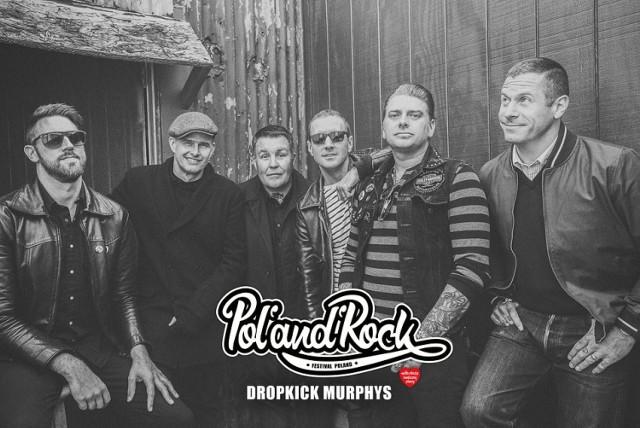 Pol'and'Rock 2020, Kostrzyn. Kto zagra na festiwalu? Dropkick Murphys