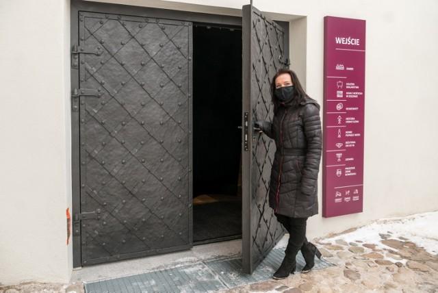 Nowe drzwi do muzeum zostały wykonane przez mistrza kowalskiego z Gniezna