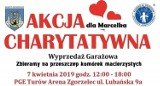 Wyprzedaż Garażowa połączona z Akcją Charytatywną dla Marcelka