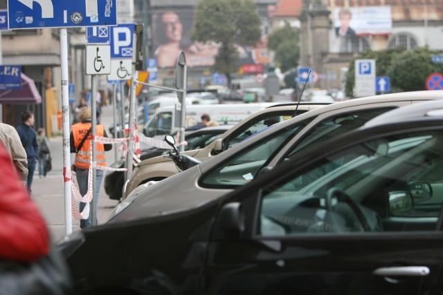 Parkingi w strefie płatnego parkowania w Katowicach