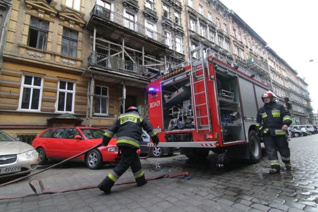 Ogień zauważono około północy, wtedy też zaalarmowano strażaków. Zdjęcie ilustracyjne
