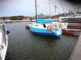 """Jacht """"I love Łeba"""" odkupiony od Nataszy Caban został zwodowany"""