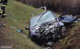Tragiczny wypadek na DK 8. Nie żyje kierowca hondy [ZDJĘCIA]