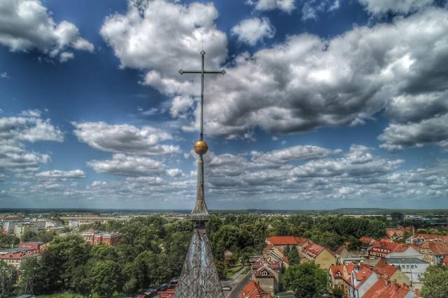Kościół Św. Jana z lotu ptaka.