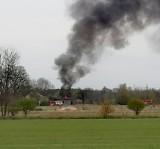 Wybuchł pożar w trzecim domu w gminie Kożuchów. Tym razem zapalił się budynek dwurodzinny