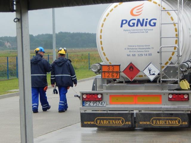 Kopalnia ropy naftowej oraz gazu ziemnego w Połęcku (gmina Maszewo).