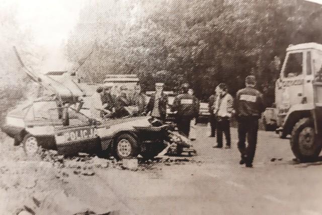 Do tragedii doszło 13 września 1996 roku pomiędzy węzłem autostradowym w Prądach a Sosnówką.