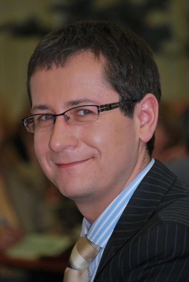 """Marcin Błaszkowski, za tłumaczenie na język polski sztuki Andreasa Gryphiusa """"Piast""""."""