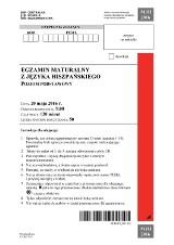 Matura 2016 z hiszpańskiego [ARKUSZE PDF, klucz odpowiedzi]