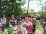 Przedszkolaki z Zawidowic w gospodarstiwe agroturystycznym