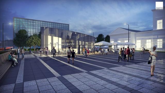 Rewitalizacja placu przed dworcem PKP w Sosnowcu