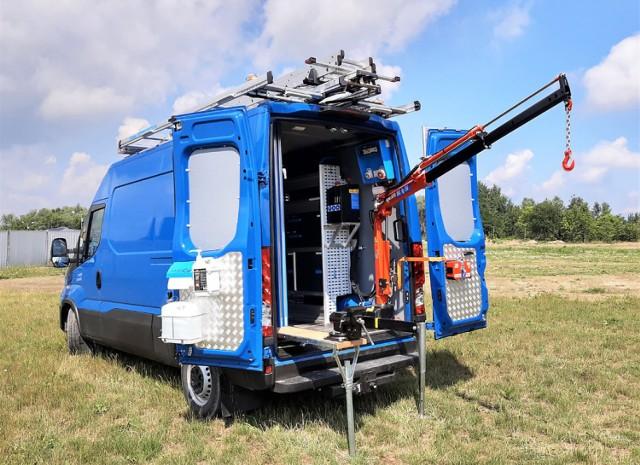 Spółka Wod-Kan w Skierniewicach zakupiła mobilne pogotowie techniczne