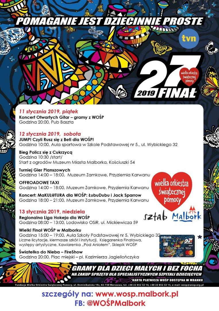 27 Finał Wośp W Malborku Sprawdźcie Szczegółowy Program Oj Już