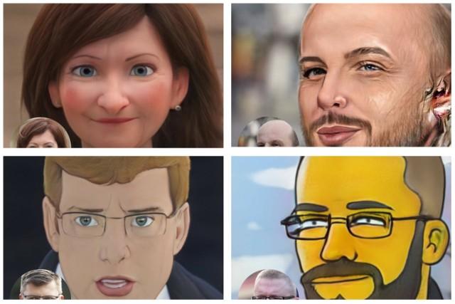 Poznajesz? Tak, to nasi kandydaci na stanowisko prezydenta Rzeszowa jako postaci z kreskówek! Kliknij na zdjęcie i zobacz inne obrazki, warto
