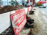 Wałbrzych: Czy pamiętacie przebudowę ulicy Uczniowskiej? Zobaczcie zdjęcia z 2002 roku.
