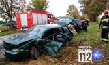 Groźne zderzenie Jeepa oraz Audi w Popowie Starym [ZDJĘCIA]