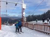 W Beskidach ruszył pierwszy wyciąg narciarski [ZDJĘCIA, WIDEO]