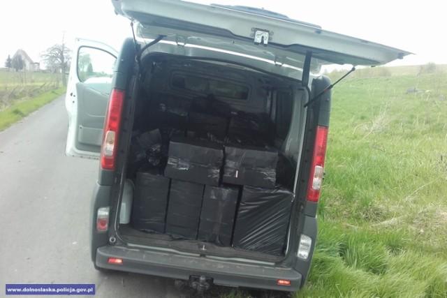 Pościg w Zgorzelcu za kierowcą przewożącym kontrabandę
