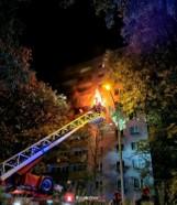 Kraków. Pożar mieszkania na Woli Duchackiej. Zginął lokator