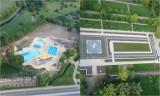Legnica z lotu ptaka - nowe baseny i parkowe fontanny w obiektywie AnTonia