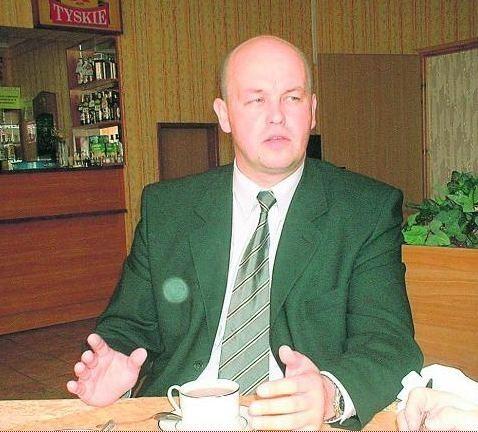 Wojciech Ziętkowski, obecny burmistrz Środy, nie rozumie sposobu odejścia swego zastępcy