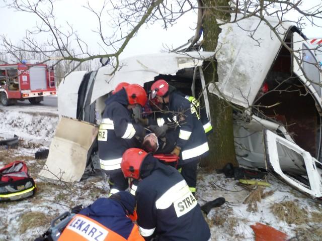 Do wypadku doszło w lutym