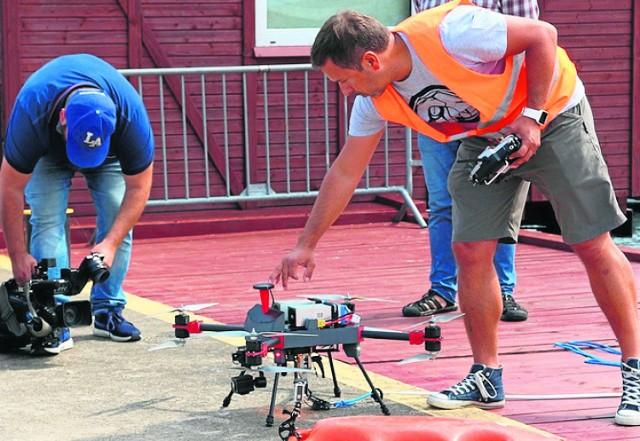 Dron skonstruowany w Gdyni to rewolucja w reagowaniu na niebezpieczne zdarzenia w wodzie