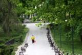 Najstarszy park w Lublinie ulubionym miejscem do spacerów i fotografowania. Zobacz zdjęcia Ogrodu Saskiego na Instagramie