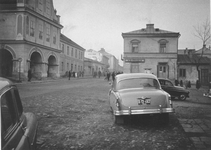 Sandomierska starówka, uliczki, Kościół świętego Jakuba,...