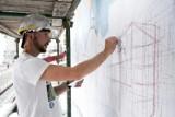 Słupsk: Przy ulicy Bema powstaje wielki mural