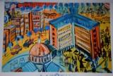 Edward Dwurnik namalował Tychy. Kto mu dorówna? Konkurs dla dzieci i młodzieży