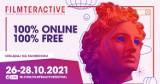 Tegoroczna edycja Filmteractive Festival o nowych technologiach odbędzie się w całości online