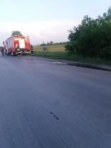 Wypadek w Bukowie: Seicento wypadło z drogi [ZDJĘCIA]