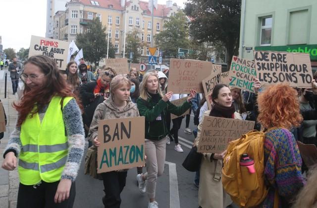 Młodzieżowy Strajk Klimatyczny Szczecin 2021