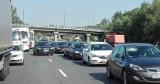 Autostrada A4 zakorkowana z powodu wypadku w Pławniowicach. Korek mierzy już 10 kilometrów