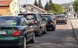 Chełm. Kierowcy mają utrudniony przejazd. Miasto zostało zakorkowane