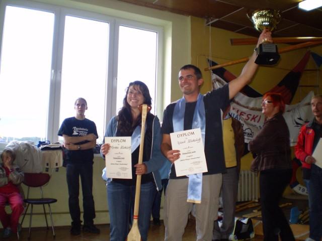 Monika i Robert Kłakulakowie - zwycięzcy tegorocznych regat