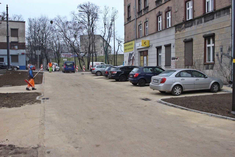 Ulica Grochowska Przebudowana Dotychczas Byla To Jedna Z Drog
