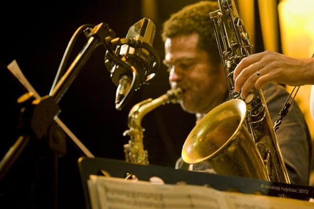 """Moją próbę zdjęciowego przedstawienia muzyki chciałem zaprezentować na przykładzie festiwalu jazzowego """"Made in Chicago"""". Fot. Andrzej Hajdasz"""