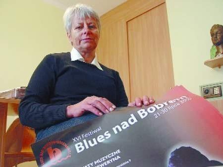 – Żal mi, ale prawdopodobnie następny festiwal będzie dopiero w 2007 roku – mówi Krystyna Juszkiewicz. FOT. BERNARD £ÊTOWSKI