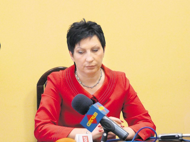 Prezydent Zgierza Iwona Wieczorek uważa, że powinna nadzorować miejskie wodociągi, zasiadając w radzie nadzorczej spółki Wodkan.