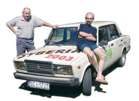 Marian Wantulok i Sebastian Bestrzyński wrócili z podróży cali i zdrowi. Foto: WOJCIECH TRZCIONKA